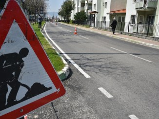 spring makeover to streets and streets in bursa