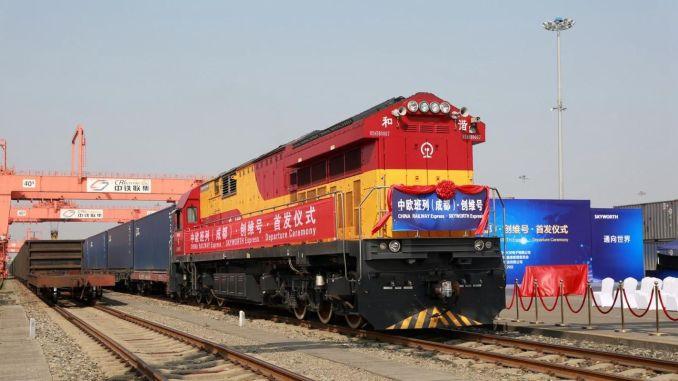 Eurasian railway bridge to be established between jin and germany