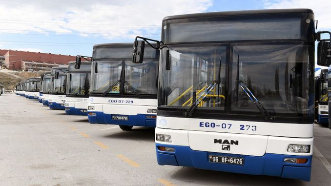 ego buses started to provide full capacity service on all lines