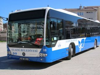 elazig municipality reorganized bus schedule