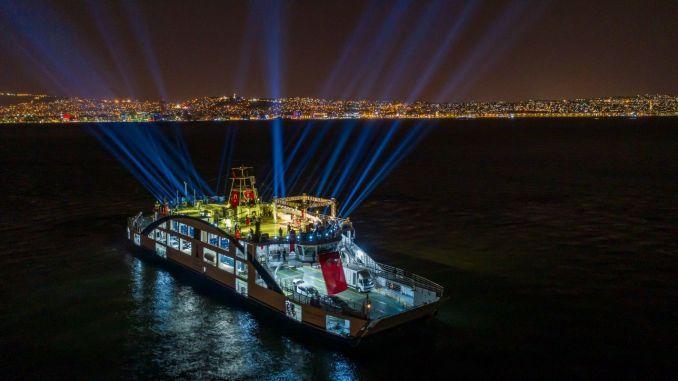 historical thirteenth year concert at izmir bay of haluk levent