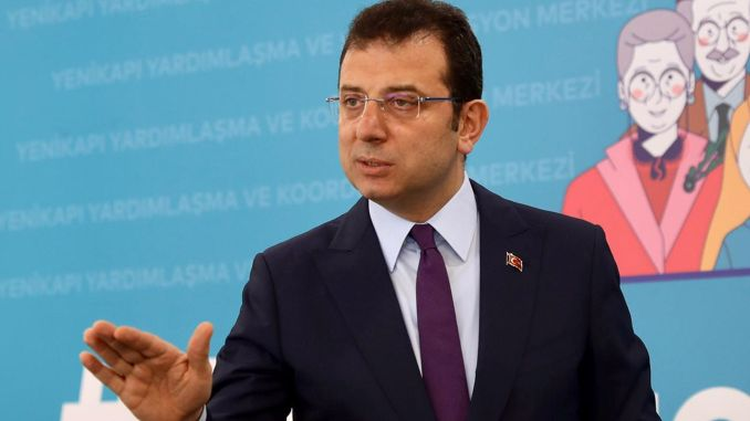 imamoglu should be declared ban on daily streets from April to May