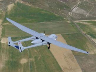 Ubemandet luftfartøj gør sig klar til at gå ind i inventaret