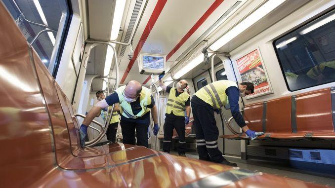 Ang Covid alarm air conditioner ay kumakalat ng virus sa Istanbul metro