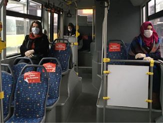 Istanbul governorship took new measures to protect social distance in public transportation