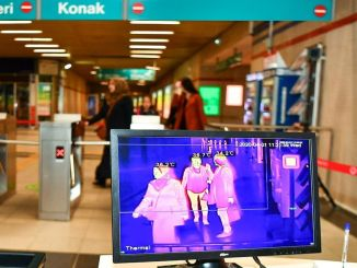 Thermal camera period started in Izmir Metro