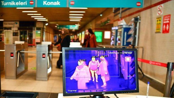U metru Izmir počeo je termalni fotoaparat