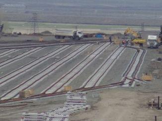 Studies in Kars logistics center started again