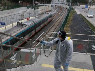 marmaray stations disinfected