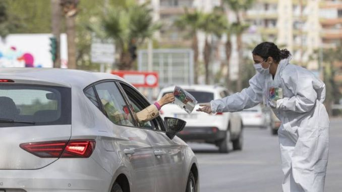 health care package application in red light in Mersin