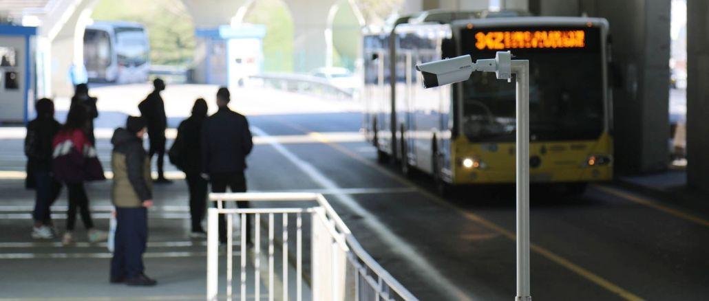 metrobus istasyonlarinda termal kamerali denetim basladi