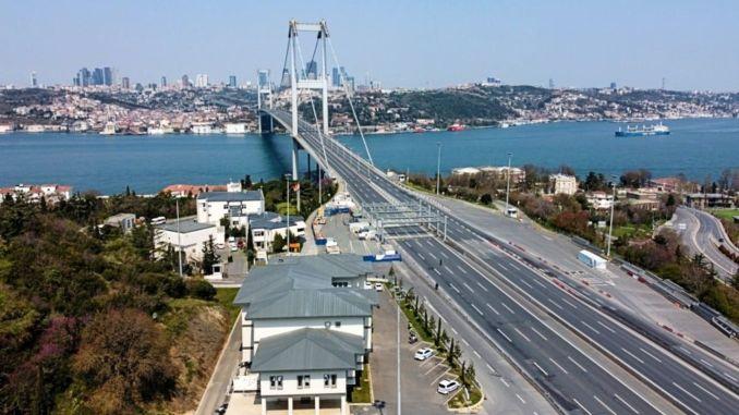 Ҳавои Истанбул дар ҷараёни пандемия тоза карда шуд