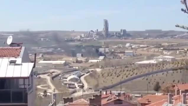 son dakika roketsan fabrikasinda patlama meydana geldi hd original