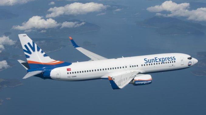 sunexpress starts shipping operation