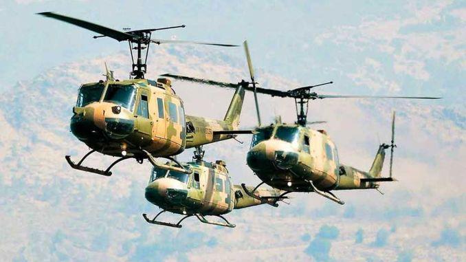 כוחות מזוינים טורקיים ומסוקי מטרה כללית