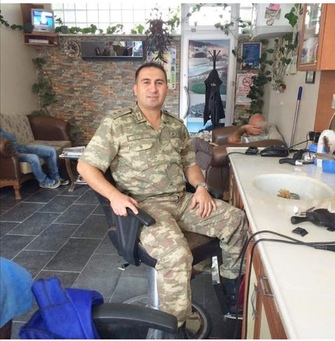 शहीद जेंडरमेरी कॅप्टन फेरहॅट ÇİFTÇİ
