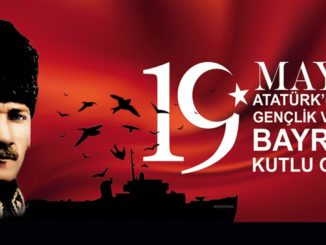 Happy anniversary of May Ataturku Commemoration Youth and Sports Day