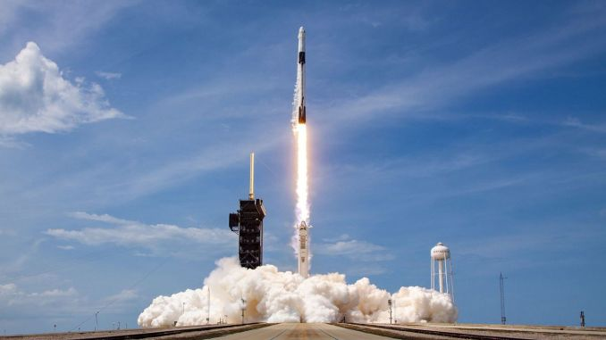 Falcon Successfully Launched into Space