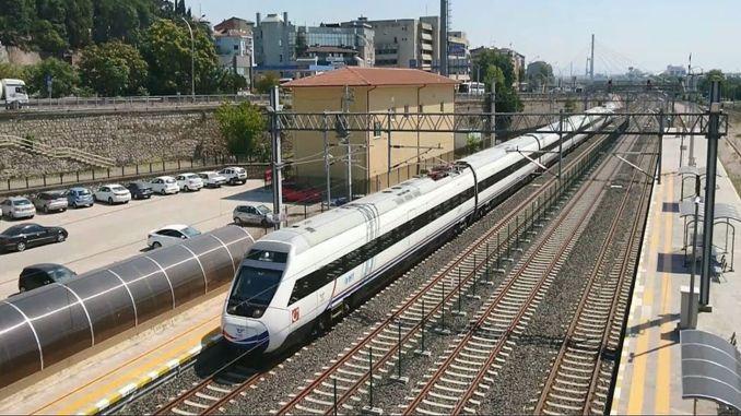 Воз велике брзине неће се зауставити у провинцијама Коцаели и Сакариа!