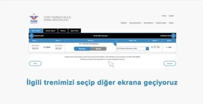 Hes Kodu İle Online Tren Bileti Nasıl Akınır