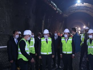 ankara is finished in t tunnel that will shorten the time between istanbul