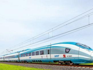 ankara izmir về đường sắt tiêu chuẩn cao