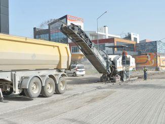 kev hloov asphalt txuas ntxiv hauv Ankara