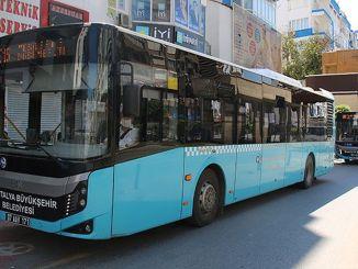 Хатти автобус дар Анталия маҳдудияти ҳамарӯза хоҳад дошт