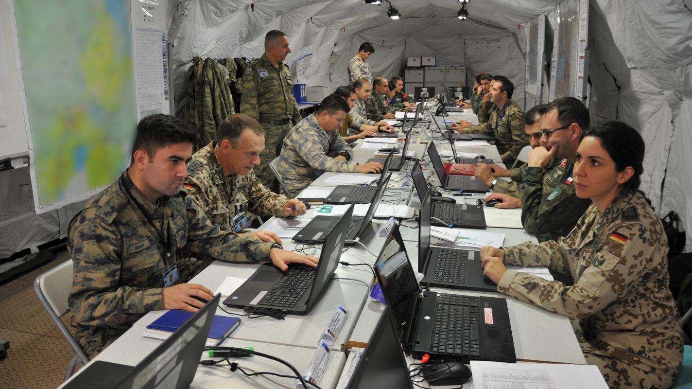 Το έργο ταλέντου που υποστηρίζεται από το δίκτυο της aselsan χρησιμοποιήθηκε στην πρακτική του ΝΑΤΟ