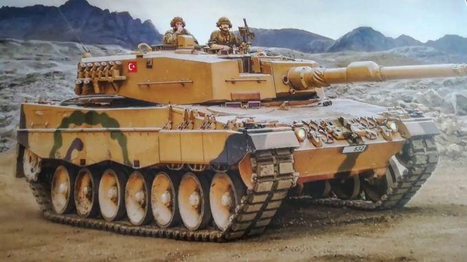 bmc modernizovat leopard tank