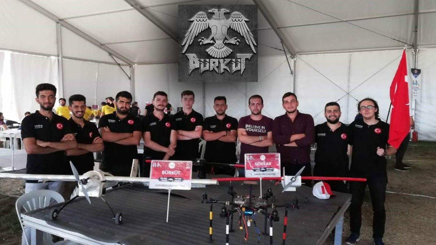 noble with burkut iha and model satellite team