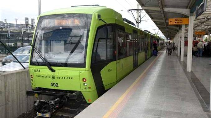 Υπογράφηκε πρωτόκολλο στη γραμμή του μετρό του Bursa City Hospital.
