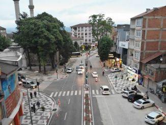 An der Kreuzung der Cardak-Moschee wird weiter gearbeitet