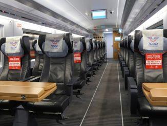 Der Normalisierungsprozess hat bei den Eisenbahnen begonnen und es werden keine Tickets verkauft