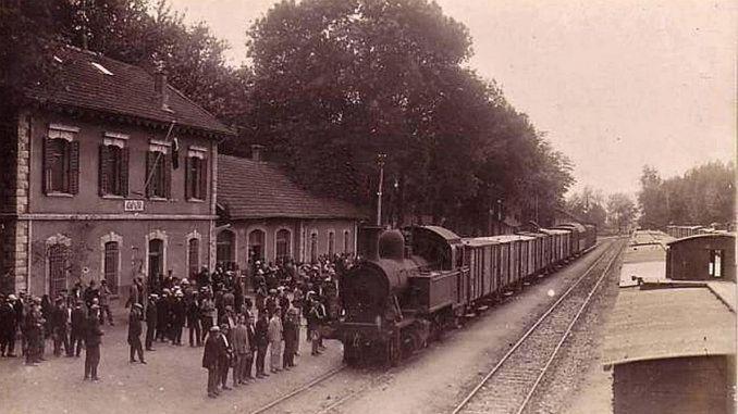 železniční dopravy