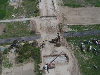Розпочато перехрестя Дітас та будівництво залізничного переїзду