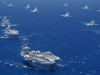 世界最大の海軍演習は、熱心なため制限された方法で行われます