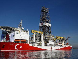 fatih અવાજ વહાણ કાળા સમુદ્રમાં તેલ માટે શોધ કરશે