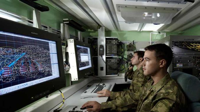 air defense early warning and command control system herikks