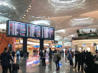 nhà ga sân bay istanbul là tòa nhà được chứng nhận vàng lớn nhất thế giới