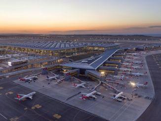 Numărul pasagerilor din criza coronavirusului a scăzut pe aeroportul din Istanbul