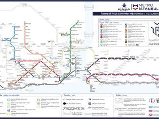 истанбул метро мап