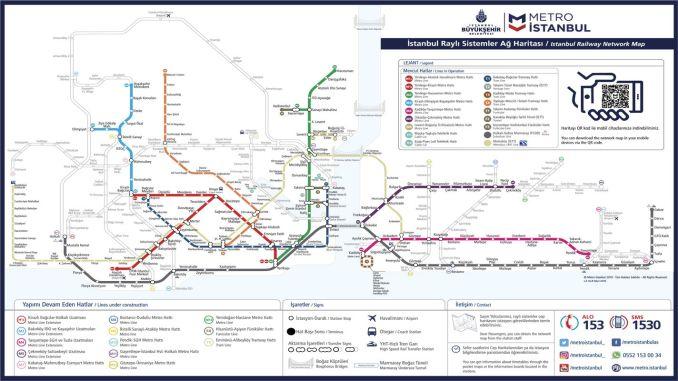 خريطة مترو اسطنبول