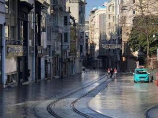Förklaring på utgången från Istanbul-styrelseskapet till gatan