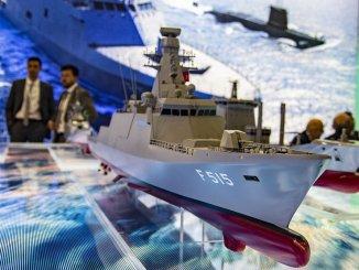 Die erste Fregatte der Stapelklasse tcg wird am Ende von Istanbul landen