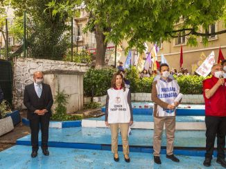 مئی ، مزدور اور یکجہتی کا دن یکجہتی طور پر ازمیر میں سال بہ سال منایا گیا۔