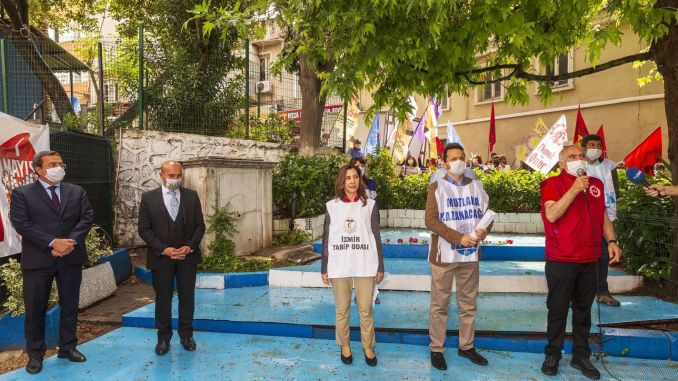 May, Labor and Solidarity Day was celebrated at the same place in Izmir year after year.