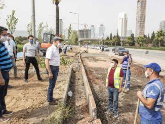 Goud raakt om het verkeer in Izmir te beperken
