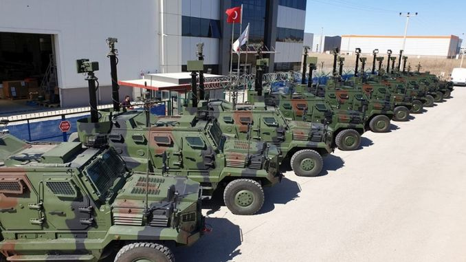 katmerciler and aselsan completed fire delivery to security forces