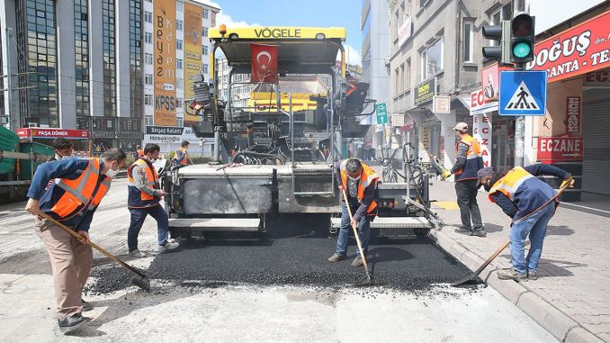 The restriction on the street in Kayseri has frozen to the opportunity